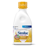 Abbott 57455 Similac Neosure Ready to Feed Infant Formula-6/Case