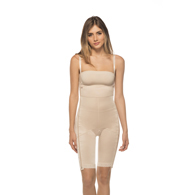 Annette 17410 Above the Knee Girdle with 2 Side Zippers