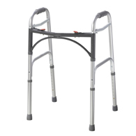 Drive Medical 10200-1 Deluxe Two Button Folding Walker