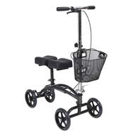 Drive Medical 796 Dual Pad Steerable Knee Walker w/ Basket