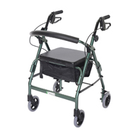 Essential Medical W1650 Featherlight Walkers-Loop Hand Brakes