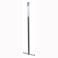 Healthometer 201HR Wall Mounted Telescopic Metal Height Rod