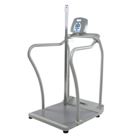 Health o meter 2101KGHR Digital Platform Scale with Height Rod-KG Only