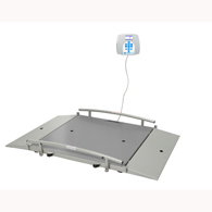 Health o meter 2650KG Digital Wheelchair Dual Ramp Scale-KG Only