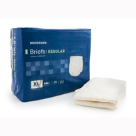 McKesson BRCLXL Regular Cloth Brief-60/Case