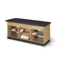 Proteam Open Cabinet Storage Table