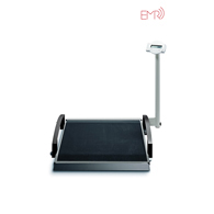 seca 664 EMR-Validated Digital Wheelchair Scale, Folds Away for Easy Transport