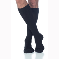 SIGVARIS 232CM 20-30 mmHg Mens Cotton Sock w/ Grip