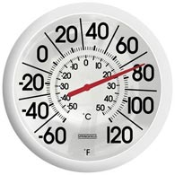 "Springfield 90007 13"" Big And Bold Low Profile Thermometer"