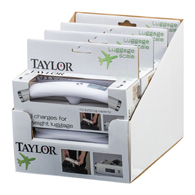Taylor 81234 Luggage Scale-110 lb / 50 kg Capacity