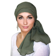 Turban Diva Designs 102 Cotton Gauze Turban Set
