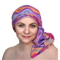 TurbanDiva 331 One Piece Rayon Challis Turban Head Wrap